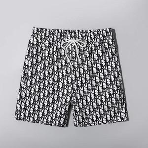 Toptan Yaz Modası Şort Yeni Tasarımcı Hızlı kuruyan Şort Baskılı Plaj Pantolon Erkekler Erkek Swim Şort Gevşek Sürüm