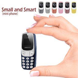Desbloqueado Mini Telefone Super pequeno BM10 Mobile Phone Voz ChangerBluetooth fone de ouvido Bluetooth Dialer Dual Card baixa radiação do telefone celular