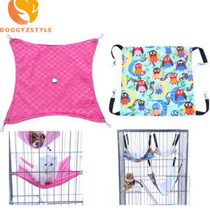 Small Pet Dog Hammock Goods Rat Rabbit Hamster Cat Cage Hammocks Hanging Bed Cage Supplies Accessories