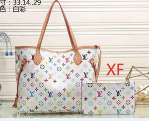 2020 alto qulity clásicos bolsos de las mujeres señoras de la flor de asas compuesto de la PU de cuero embrague bolsas de hombro bolso femenino billetera 012