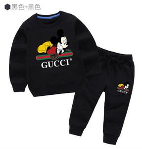 Heißer Verkaufs-neue Art-Kinderbekleidung für Jungen und Mädchen Sport Anzug Baby-Säuglings-Kurzschluss-Hülsen-Kleidung-Kind-Set 1-8 Alter