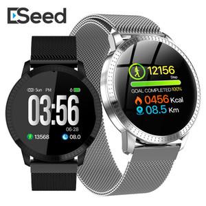 eSeed ES02 intelligente del braccialetto della vigilanza CF18 IP67 impermeabile in vetro temperato Attività Fitness Monitor frequenza cardiaca Sports Tracker pk id115 più
