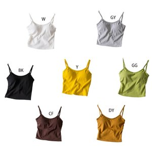 Womens Sexy Backless Twist Knot Camisole Summer Bight Solid Color Padded Tank Top Casual Basic Slim Fit Sling Vest Beachwear