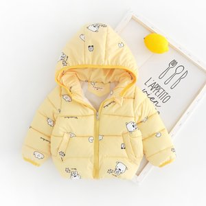 2019 Winter New Products Men And Women bao lian Cap Warm Cotton Coat Thick Small CHILDREN'S Jacket 1-4-Year-Old CHILDREN'S out C