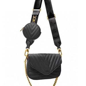 Lujo diseñador de los bolsos monederos más popular manera de las mujeres de los hombres Compuesto bolsa bolso de Crossbody bolsos de la marca de hombro bolsos de diseño
