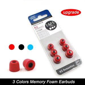Nueva actualización 3 pares Aislamiento de ruido Cómodo Memory Foam Ear Tips Almohadillas Auriculares S / M / L Para auriculares con auriculares