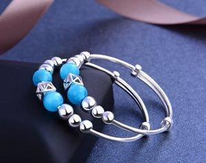 marca de qualidade superior pulseiras de prata pulseira de S990 prata fina novas crianças com prata olho vendedor fábrica de jóias DDS0439 gato