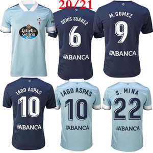 Top Thai-Qualität 2021 2020 Celta Vigo Fussball Jersey 20 21 Celta de Vigo Bongonda Hernandez Nolito Home Away Football Hemd Trikots 2020