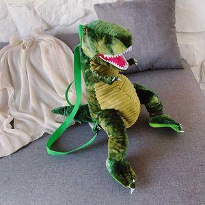 MANFUNI bolsa de dinosaurio de la historieta linda para los hombros animales de peluche de la muchacha de la personalidad Animal divertido de múltiples funciones de los niños del bolso
