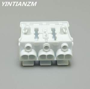 3 Pin Spring Wire Connectors Electrical Cable Clamp Terminal Block Connector LED Strip Light Quick Wire Connecting Connectors & Terminals