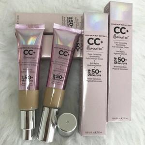 دروبشيبينغ أعلى جودة CC كريم جلدك ولكن أفضل CC + كريم تصحيح الألوان إلقاء الضوء على تغطية كامل الدسم 32ml