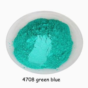 Ücretsiz kargo Sağlıklı Doğal yeşil mavi Mika Tozu, göz farı makyaj ham, DIY sabun, boya pigment, ruj