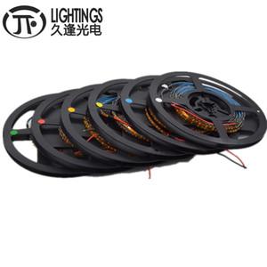 5M 0805 3 millimetri di larghezza PCB 0805 SMD 120leds / m luminosa eccellente caldo del LED della striscia rosso / verde / blu / bianco / bianco / arancio / rosa IP30 DC12V