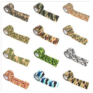 5cmx4.5m Army Camo Caza al aire libre Tiro Blind Wrap Camuflaje Stealth Tape Impermeable Wrap Durable Envío gratis