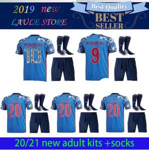 19-20 Japan Adult Set Home Soccer Jerseys 2020 #HONDA # OKAZAKI #ATOM #KAGAWA Japanese Men kit customize Football Shirt Uniform