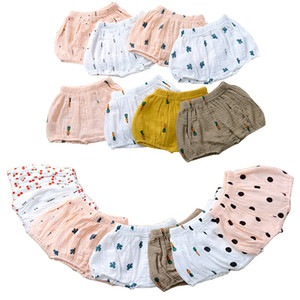 On-line Ins Verão Crianças PP Calças Baby Girl Shorts da criança calças unisex casuais Bloomers Briefs Diaper incluir Cueca 20040101