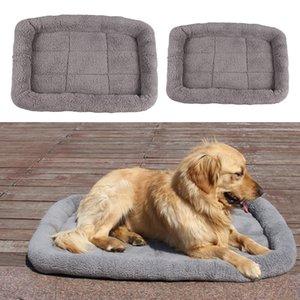 2pcs Comfortable Pet Sleeper Cushion Soft Blanket Soft Mat for Pet Sleeping Playing Resting
