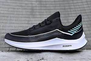 2020 Breathable Zoom Winflo 6 Shield spring and summer men and women casual shoes student couple Red White Low Top Casual Shoes