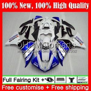 Тело для Ямаха YZF 1000 р 1 и YZF-1000 синий белый YZFR1 09 10 11 12 99MT6 YZF Р1 09 12 YZF1000 и YZF-R1 в 2009 2010 2011 2012 обтекателя кузова