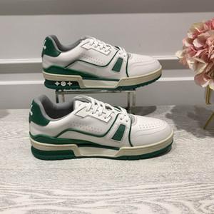 2020 مصمم جديد الأخير من جانب العذراء abloh حذاء جلد المدرب، أحذية رياضية الرجال لكرة السلة الأحذية مع جلد العجل الأحذية الكاجوال العديد من colors7