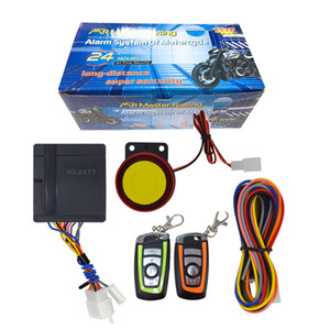 10pcs a lot car Motorcycle Motorbike Scooter Anti-theft Security Alarm System Remote Control Engine Start 12V Keyless Remote Control