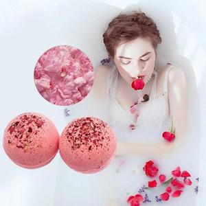 4pcs Balles de Sel de Bain Bio Bombes de Bain Soulagement du Stress Huile Essentielle Blanchiment Nature Saveur Bombes de Bain C18112001
