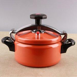 Outils de cuisine Mini extérieure en acier inoxydable de riz Cuisson sous pression Pot Cooker Camping multifonctionnel Stovetop Antidéflagrant