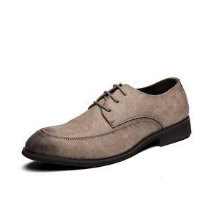 남성 정품 가죽 신발 패션 영국 스타일의 가죽 신발에 대한 EUDILOVE 최고 품질 옥스포드 신발 1058-1을 *