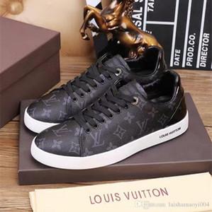 Iduzi Italy 디자이너 신발 최고 품질 그레이 화이트 ACE 수 놓은 망 여성 진짜 가죽 스 니 커 즈 브랜드 캐주얼 신발