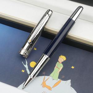 Роскошные высококачественные монтные пустые Le Petit Prince с глубокими голубыми ценными ручками Barrel Ross, Mens Classic MB запонки