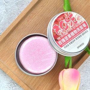Jabón para oscurecer el cabello Barra de champú-100% acondicionador orgánico Natural y reparación