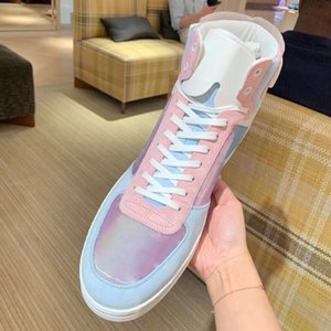 The latest version Real Leather Sneakers High Quality Trainers Designer Shoes Womens Casual Shoes Size:35-40 With Box L45