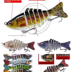 43Ewp gefälschte Luya Köder leuchtende bionische Garnelen # 5555 baitset leuchtende weiche Fische Blackfish Köder Tintenfisch