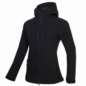 nouvelles femmes HELLY Veste d'hiver Hooded Softshell pour coupe-vent et manteau souple Veste imperméable Shell HANSEN Vestes Manteaux 1728