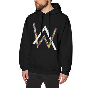 Alan Walker Mens Hoodies Fashion Casual Multi novità Abbigliamento cotone a maniche lunghe Felpe con cappuccio S-3XL di trasporto