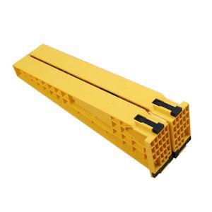 Installazione 2 pezzi cassetto pista fissa Holder Jig ausiliario di posizionamento di montaggio Cabinet Strumenti di falegnameria cassetto scorrevole Jig