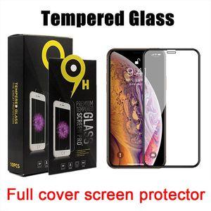 copertura in vetro temperato completa per LG Airto5 / Stylo6 / K51 / MOTO G stilo / G POWER / G veloce / gioco G8 / E 2020 / per Samsung A11 / A21 / A51 / A71 / A01 / A20 / A10E