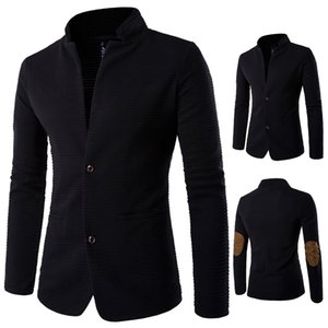 Male clothes black coat Men spring winter jacket for singer dancer performance prom dress show party nightclub outdoors Plus Size M-5XL