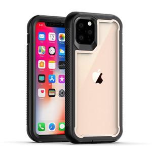 360 ° Защита от падения телефона чехол для iPhone 11 Pro XS Max XR 6 7 8 Samsung S20 ТПУ Жесткий ПК Frame противоударный Defender Case