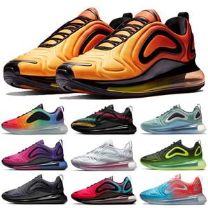 venda quente 720OG tênis unir totale Laser rosa Triplo Preto Metalizado Sports Brerthable exterior homens mulheres formadores Sneakers