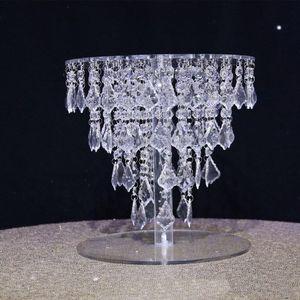 30cm إلى ل130CM طويل القامة يمكن أن تختار) عالية الجودة زهرة اضحة وشفافة الاكريليك محور حامل لحفل الزفاف الجدول كعكة الوقوف senyu0451
