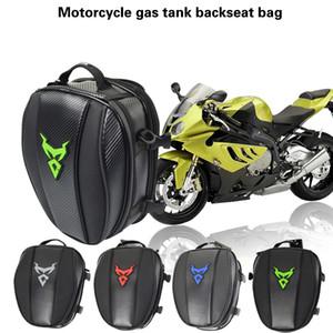 Motorrad-Rücksitz Tasche Rucksack Hand Tragetasche Batterie Auto wasserdichter Rucksack Lokomotive Buckel
