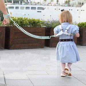 Cintura di protezione per bambini anti-smarrimento con corda di trazione Bracciale a doppio scopo Impedire la perdita di corda Prodotti di protezione per la sicurezza del bambino