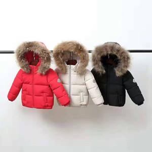 Горячая продажа Детские зимние куртки Дети вниз пальто Дети Куртка для девочек Для мальчиков Верхняя одежда Толстовки Parka Puffer пальто