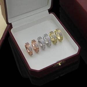 Women Hoop Earrings Fashion Love Designer Stud Earrings Wedding Jewelry 316L Titanium Steel Silver Rose Gold Cãrtiêr Earring