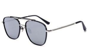 Al por mayor-Alta calidad Classic Pilot Sunglasses Designer Brand Men Womens tom Gafas de sol Gafas para Gol Metal Glass Lenses Case