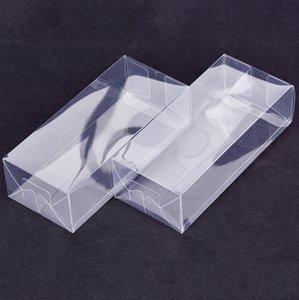 Прямоугольный дисплей Ящики пластиковые Transparent Box Clear PVC Упаковка Коробка Sample подарков