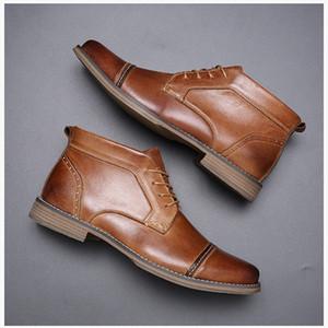 2020 الرجال حقيقية الأحذية الجلدية الأعمال مصمم الفاخرة أعلى جودة أحذية اللباس عارضة مريحة الزفاف تنفس الأحذية حزب
