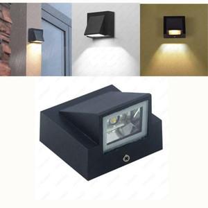 Single Head LED Wall Lamp Waterproof IP65 Garden Corridor Lamp Outdoor Indoor Sconce Light AC85-265V