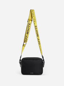 4234 Nuovo ow borsa piccola tela fw19 maschile off-ow-bianco sacchetto della cassa del telefono mobile pacchetto di Fanny mosca morta borse giro borsa serata in discoteca danza